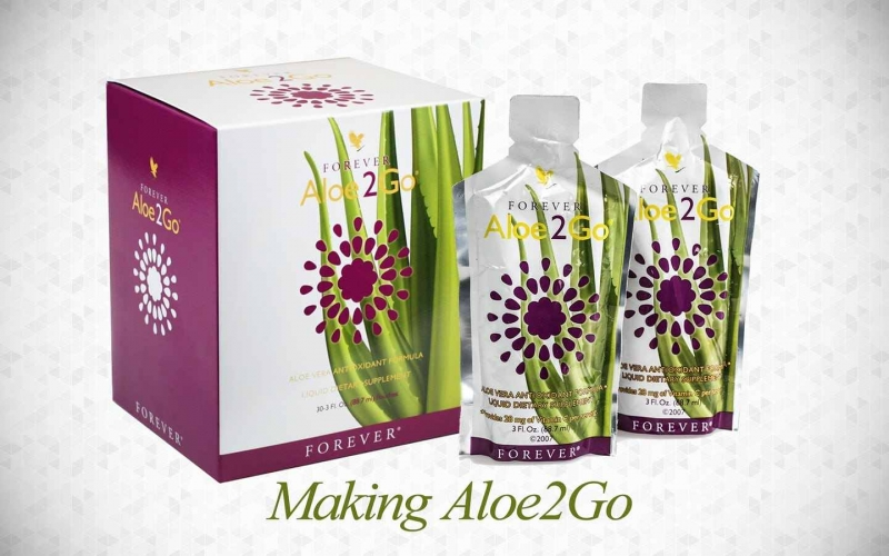 "Aloe2Go – Scrumptious Aloe Vera Juice and Fruit Cocktail ""To Go"""